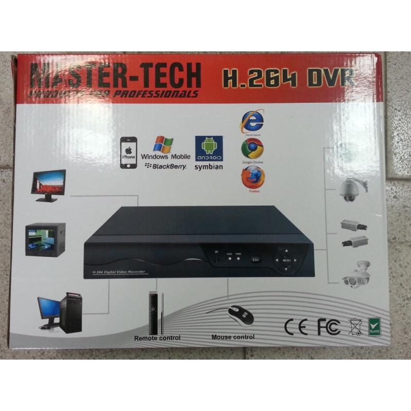 8-канален Dvr H.264 -hd/hdmi записващо охранително устройство D1.за 8 камери