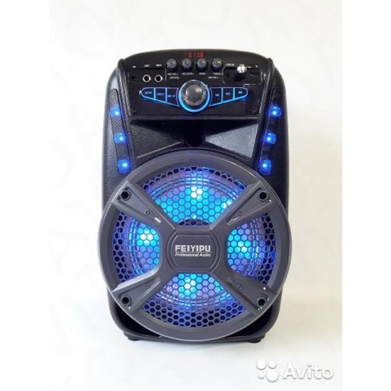модел ES-81 Караоке Активна Колона с Bluetooth,USB,микрофон тонколона 300 W