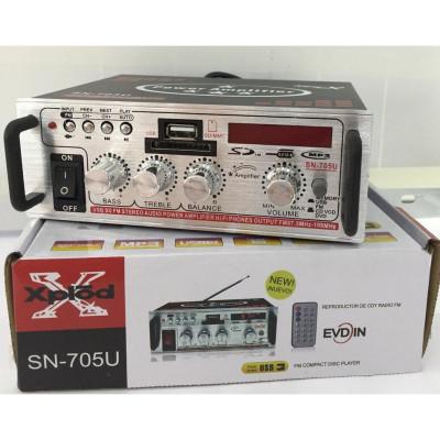 2 х 150в Аудио усилвател / Домашен усилвател, Модел: SN-705U
