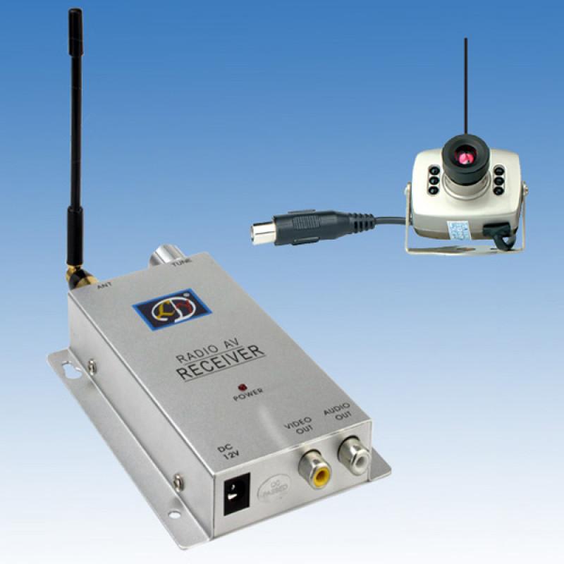 Безжична камера за видеонаблюдение + применик и нощен режим