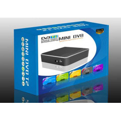 Мини Dvb-t T2 декодер/приемник за ефирна цифрова телевизия, Usb, Hdmi