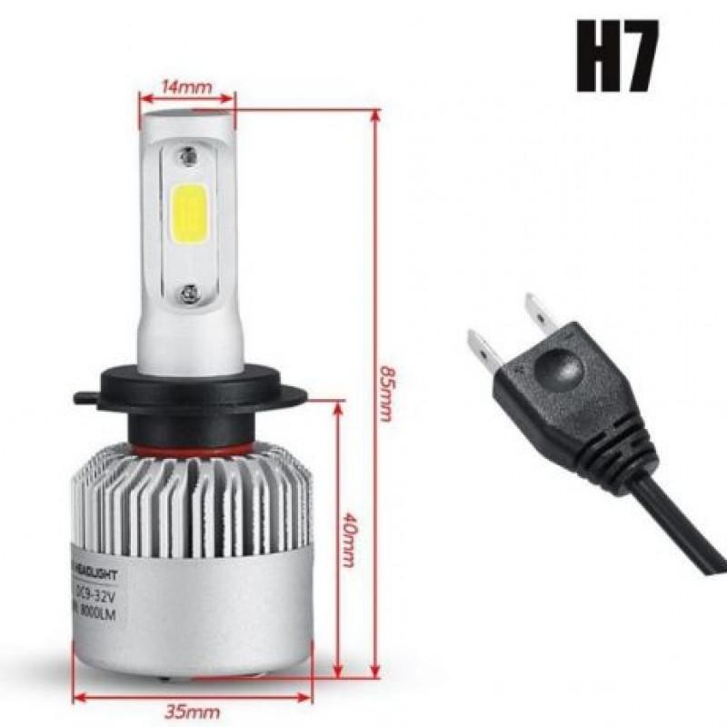 LED светлини крушки • CANBUS • H7
