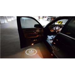 Лого проектор за директно вграждане във врата на коли
