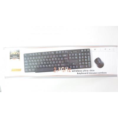 Клавиатура безжична с мишка 2.4 GH