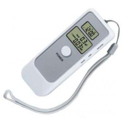 Прецизен цифров алкохол тестер дрегер с часовник и аларма с два LCD дисплея