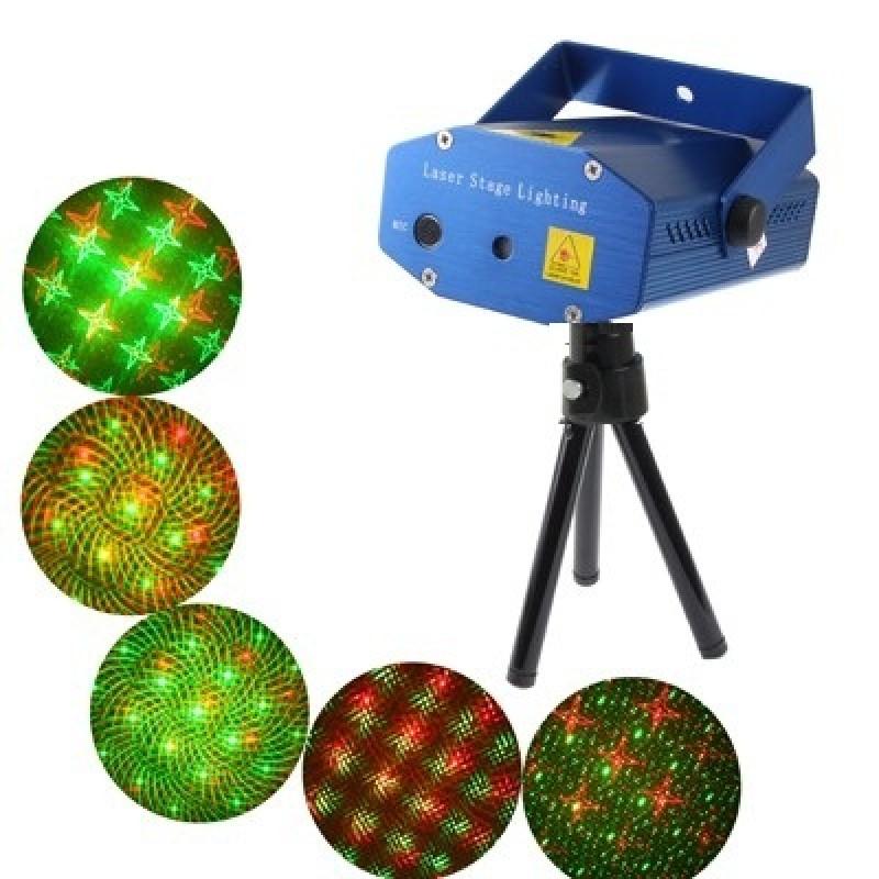 Мини лазерен прожектор с различни форми