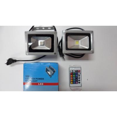 LED лампа с дистанционно управление 10W