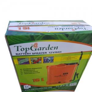 Акумулаторна тръбна пръскачка Top garden 12V/8AH