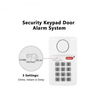 Аларма за врата, с 3 настройки, клавиатура за сигурност с паник бутон Secure Pro