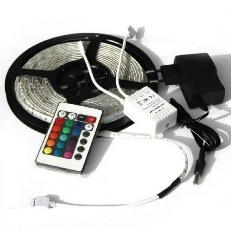 5 метра Rgb LED светлинна лента за декорация или коледна украса