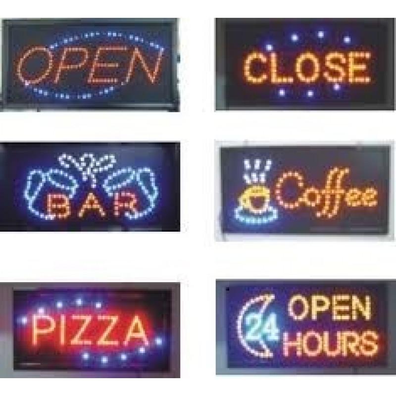 LED рекламна табела /различни модели/ за магази,офис,заведение
